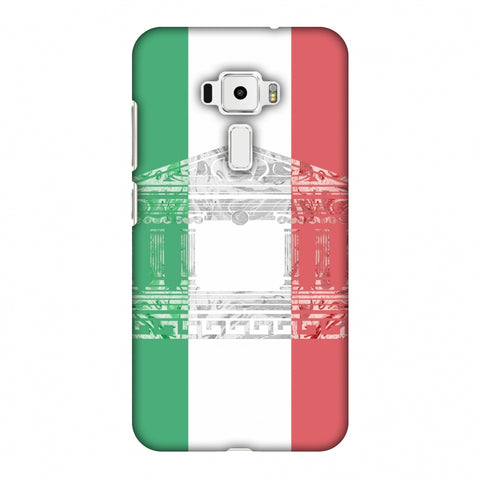 The Pantheon Of Rome - Italy Flag Slim Hard Shell Case For Asus Zenfone 3 ZE520KL