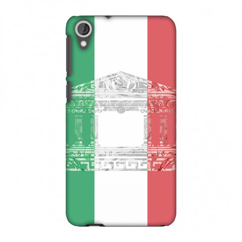 The Pantheon Of Rome - Italy Flag Slim Hard Shell Case For HTC Desire 820