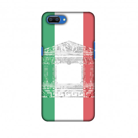 The Pantheon Of Rome - Italy Flag Slim Hard Shell Case For Oppo Realme C1