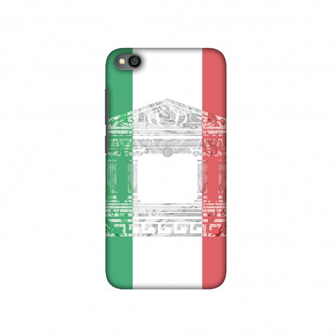 The Pantheon of Rome- Italy flag Slim Hard Shell Case For Redmi Go