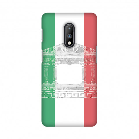 The Pantheon of Rome- Italy flag Slim Hard Shell Case For OnePlus 7