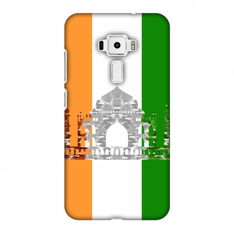 The Taj Mahal - India Flag Slim Hard Shell Case For Asus Zenfone 3 ZE520KL