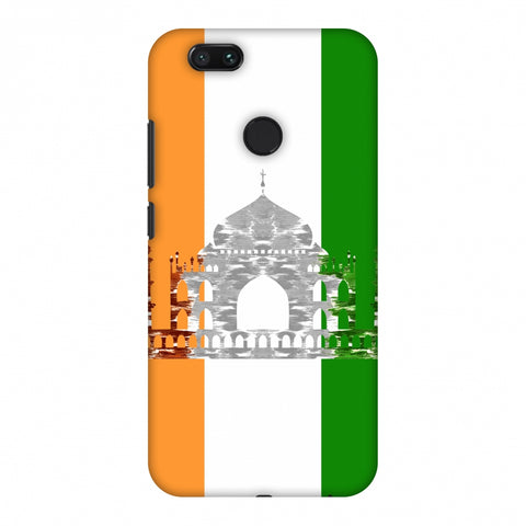 The Taj Mahal - India Flag Slim Hard Shell Case For Xiaomi MI A1-5X