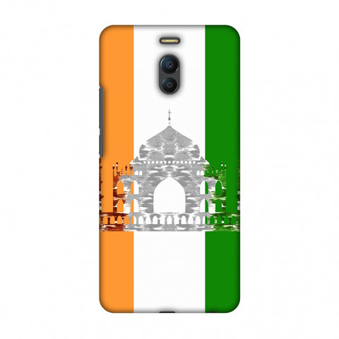 The Taj Mahal - India Flag Slim Hard Shell Case For Meizu Note 6