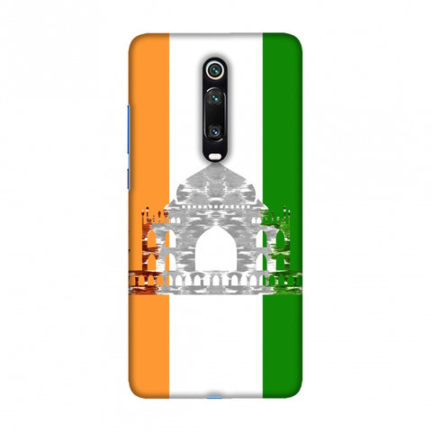 The Taj Mahal- India flag Slim Hard Shell Case For Redmi K20/K20 Pro
