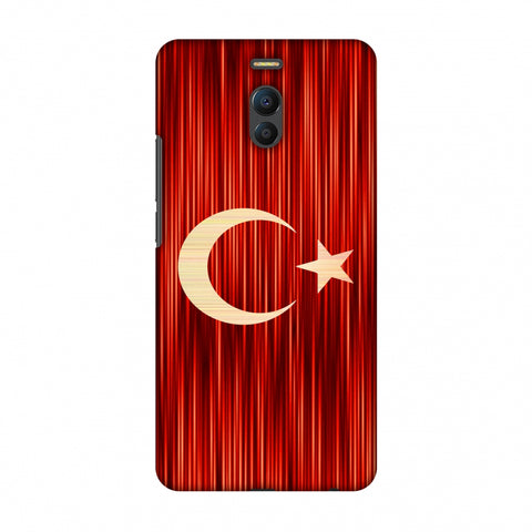 Turkey Flag - Strokes Slim Hard Shell Case For Meizu Note 6