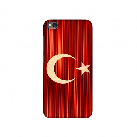 Turkey flag- Strokes Slim Hard Shell Case For Redmi Go