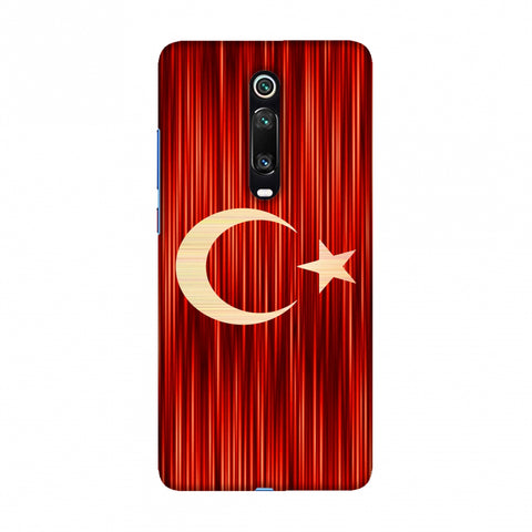 Turkey flag- Strokes Slim Hard Shell Case For Redmi K20/K20 Pro