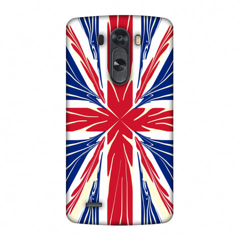 Uk Flag - Cutouts Slim Hard Shell Case For LG G4