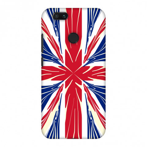 Uk Flag - Cutouts Slim Hard Shell Case For Xiaomi MI A1-5X