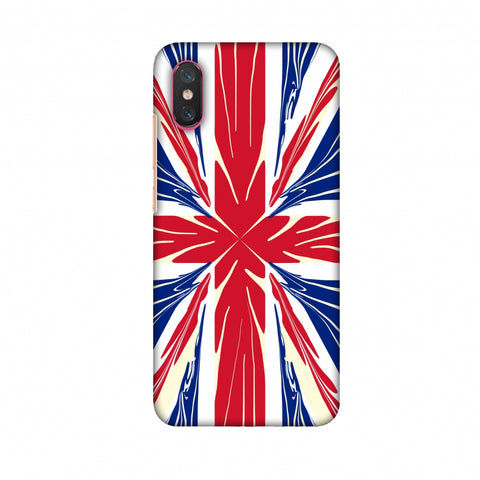 Uk Flag - Cutouts Slim Hard Shell Case For Xiaomi Mi 8 Pro