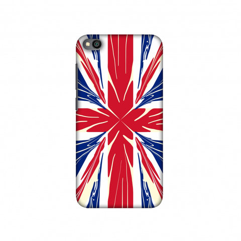 UK flag- Cutouts Slim Hard Shell Case For Redmi Go