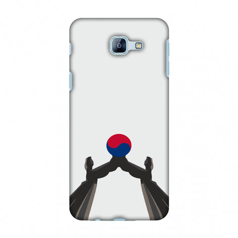 Unification Arch - South Korea Flag Slim Hard Shell Case For Samsung Galaxy A8 2016