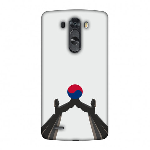 Unification Arch - South Korea Flag Slim Hard Shell Case For LG G4