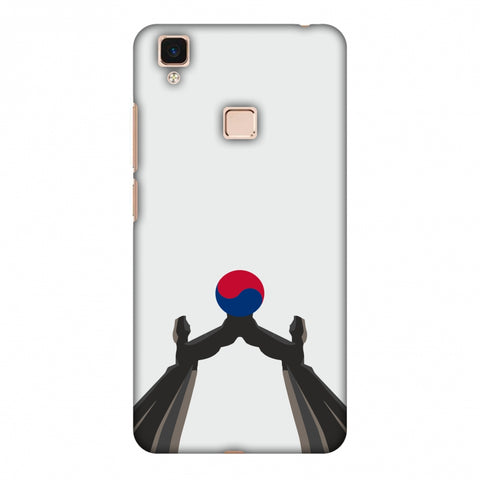 Unification Arch - South Korea Flag Slim Hard Shell Case For Vivo V3 Max