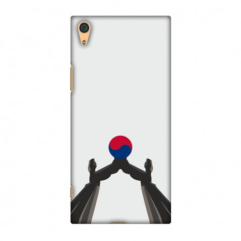 Unification Arch - South Korea Flag Slim Hard Shell Case For Sony Xperia XA1