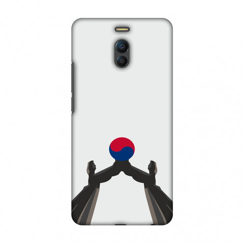 Unification Arch - South Korea Flag Slim Hard Shell Case For Meizu Note 6