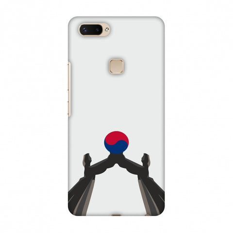 Unification Arch - South Korea Flag Slim Hard Shell Case For Vivo X20 Plus