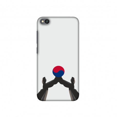 Unification Arch- South Korea flag Slim Hard Shell Case For Redmi Go