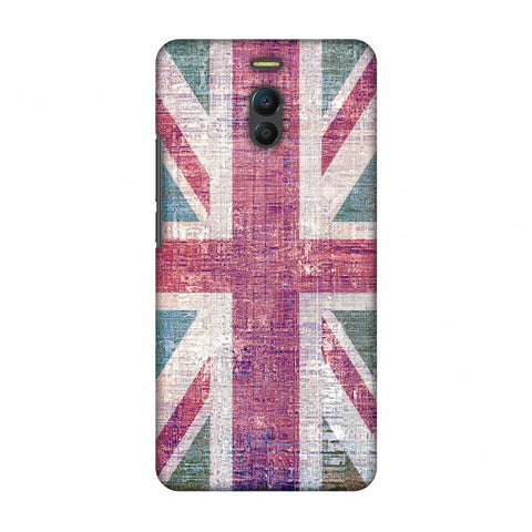 Uk Flag - Wood Texture Slim Hard Shell Case For Meizu Note 6