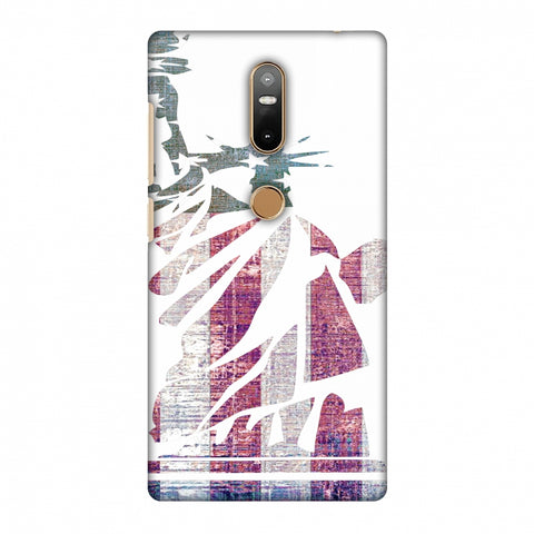 Statue Of Liberty - Usa Flag Slim Hard Shell Case For Lenovo Phab 2 Plus