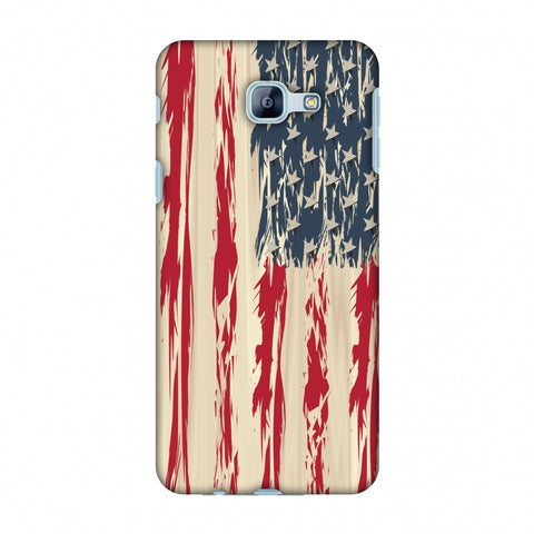 Usa Flag - Paint Splashes Slim Hard Shell Case For Samsung Galaxy A8 2016