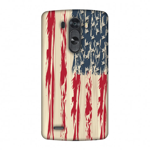 Usa Flag - Paint Splashes Slim Hard Shell Case For LG G4
