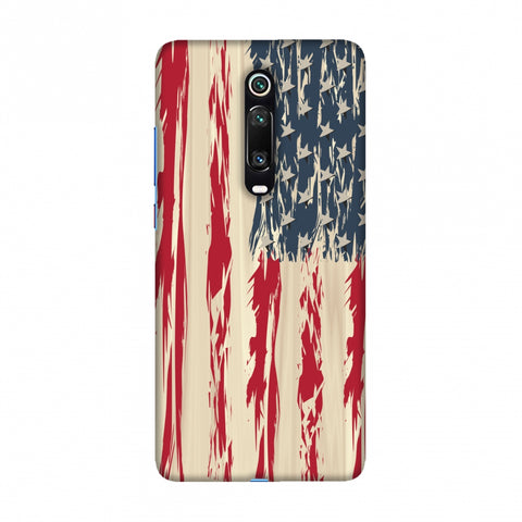 USA flag- Paint splashes Slim Hard Shell Case For Redmi K20/K20 Pro