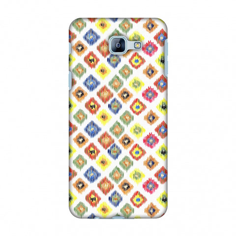 Ikats - Brights Slim Hard Shell Case For Samsung Galaxy A8 2016