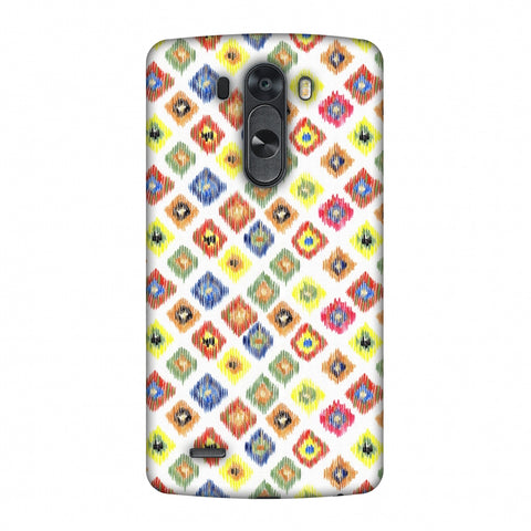 Ikats - Brights Slim Hard Shell Case For LG G4