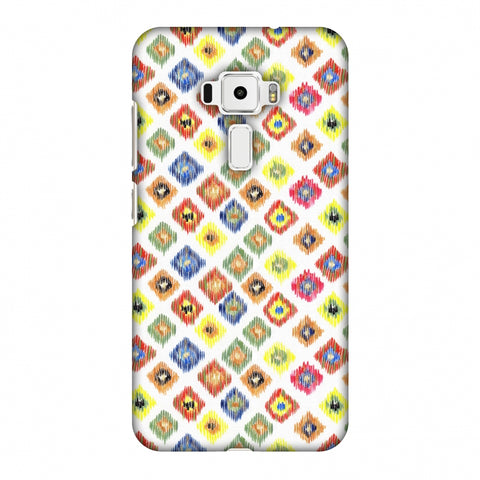 Ikats - Brights Slim Hard Shell Case For Asus Zenfone 3 ZE520KL