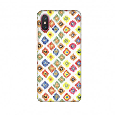 Ikats - Brights Slim Hard Shell Case For Xiaomi Mi 8 Pro