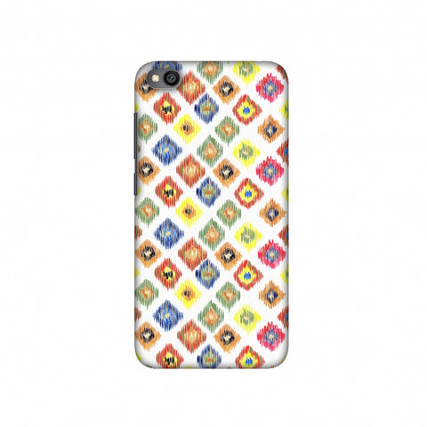Ikats- Brights Slim Hard Shell Case For Redmi Go