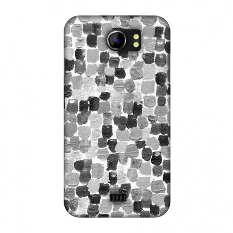 Morning Assembly - Monochrome Slim Hard Shell Case For Micromax Canvas 2 A110