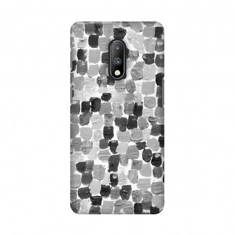 Morning Assembly - Monochrome Slim Hard Shell Case For OnePlus 7