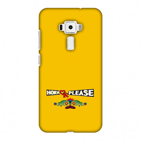 Horn Ok Please - Mustard Slim Hard Shell Case For Asus Zenfone 3 ZE520KL
