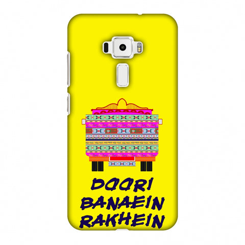 Doori Banaein Rakhein - Yellow Slim Hard Shell Case For Asus Zenfone 3 ZE520KL