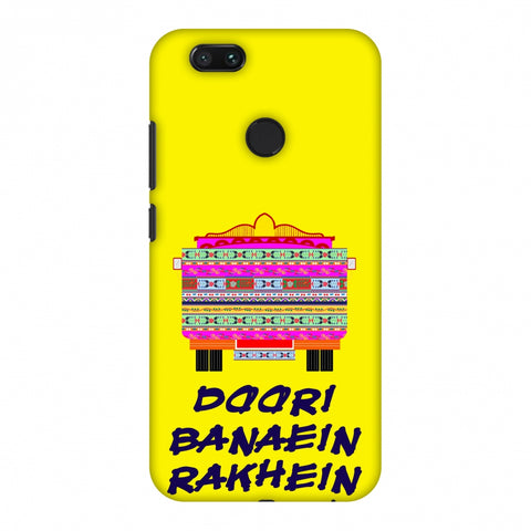 Doori Banaein Rakhein - Yellow Slim Hard Shell Case For Xiaomi MI A1-5X