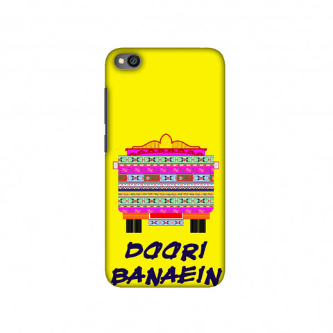 Doori Banaein Rakhein- Yellow Slim Hard Shell Case For Redmi Go