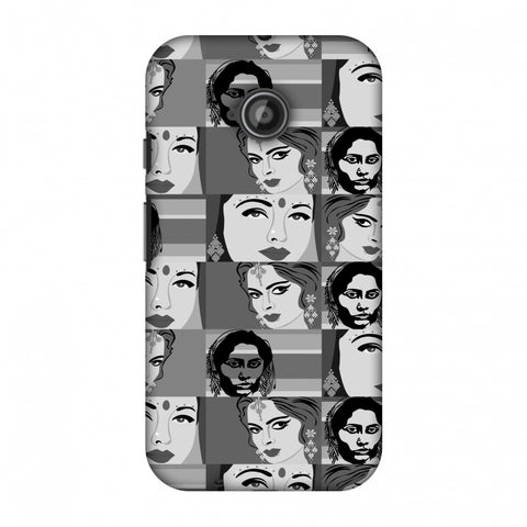 Quirky Bollywood - Monochrome Slim Hard Shell Case For Motorola Moto E 2nd Gen