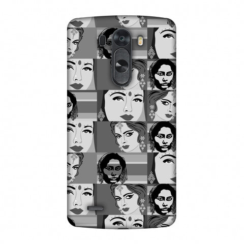 Quirky Bollywood - Monochrome Slim Hard Shell Case For LG G4