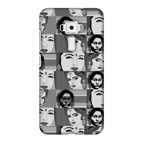 Quirky Bollywood - Monochrome Slim Hard Shell Case For Asus Zenfone 3 ZE520KL
