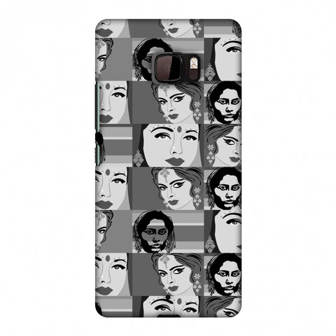 Quirky Bollywood - Monochrome Slim Hard Shell Case For HTC U Ultra
