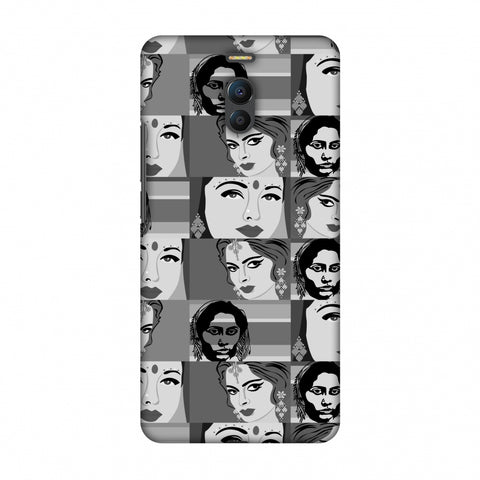 Quirky Bollywood - Monochrome Slim Hard Shell Case For Meizu Note 6