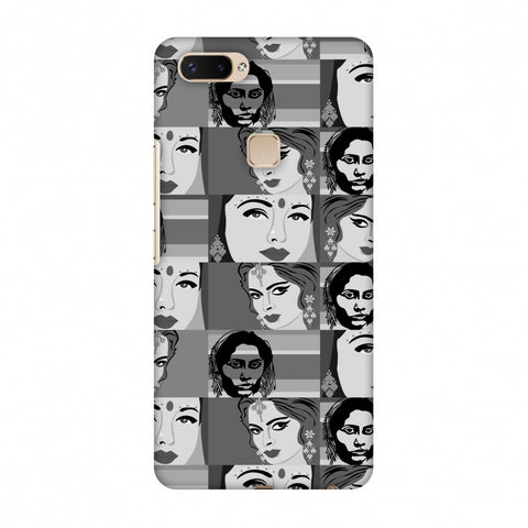 Quirky Bollywood - Monochrome Slim Hard Shell Case For Vivo X20 Plus