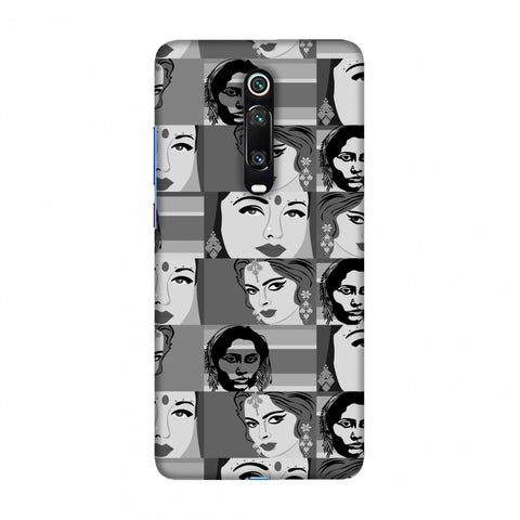 Quirky Bollywood- Monochrome Slim Hard Shell Case For Redmi K20/K20 Pro