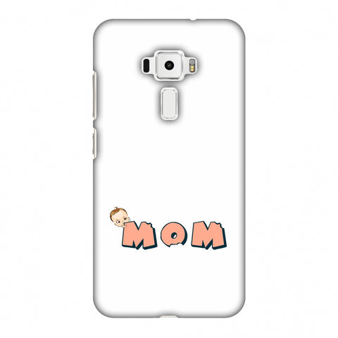 Mom - Beige Slim Hard Shell Case For Asus Zenfone 3 ZE520KL