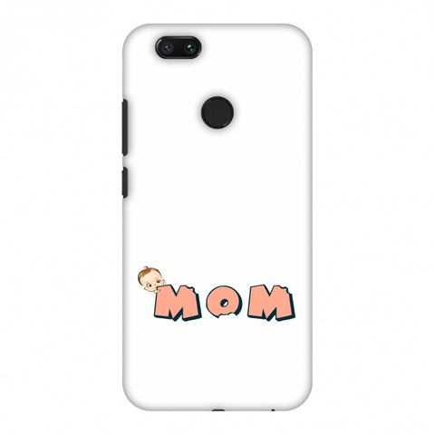 Mom - Beige Slim Hard Shell Case For Xiaomi MI A1-5X