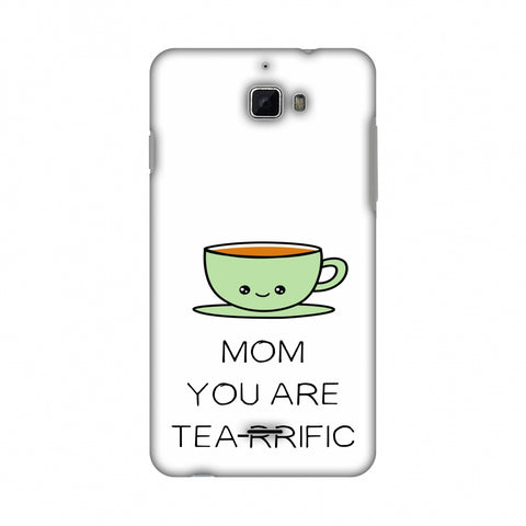 Mom You Are Tea -Rrific - Beige Slim Hard Shell Case For Coolpad Dazen 1