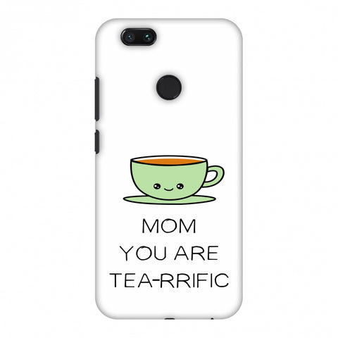 Mom You Are Tea -Rrific - Beige Slim Hard Shell Case For Xiaomi MI A1-5X